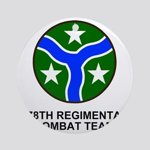 ARNG-278th-RCT-Shirt Round Ornament