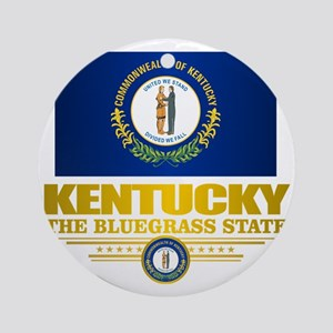 Kentucky Pride Round Ornament