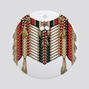 Native American Breastplate 10 Round Ornament