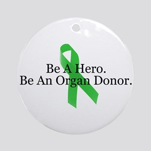 Bold Organ Donor Ornament (Round)