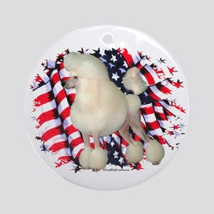 Poodle 3 Ornament (Round)