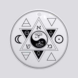 New Hermetics Seal Ornament (Round)