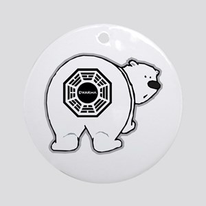 Dharma Bear Ornament (Round)