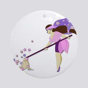 Fairy housekeeper Ornament (Round)