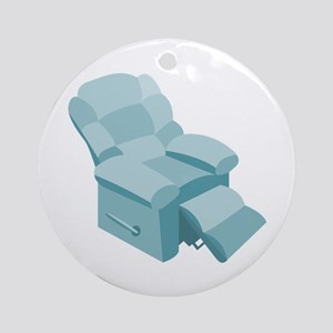 Recliner Ornament (Round)