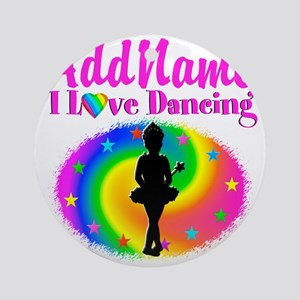 LOVE BALLET Round Ornament
