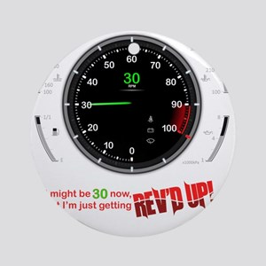 speedometer-30 Round Ornament