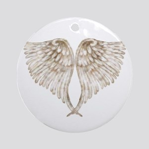 angel wings Round Ornament