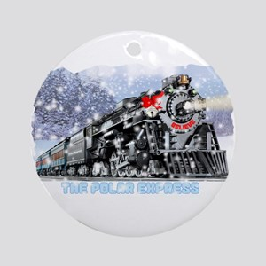 The Polar Express Round Ornament