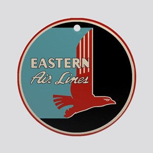 Eastern Airlines Round Ornament