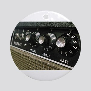 Amplifier panel Round Ornament