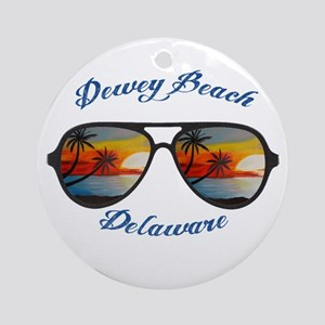 Delaware - Dewey Beach Round Ornament