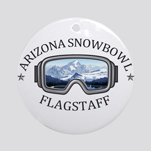 Arizona Snowbowl  -  Flagstaff - Arizona Round Orn