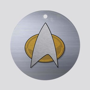 STARTREK TNG METAL Ornament (Round)