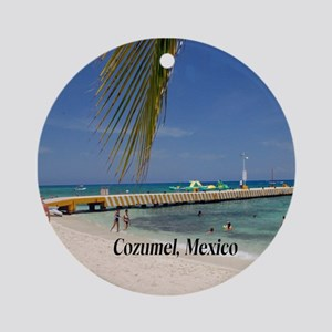 Cozumel Mexico Round Ornament