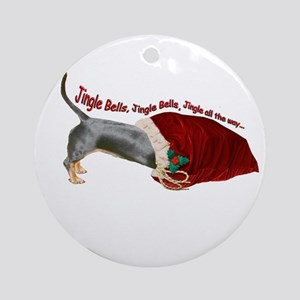 Toy Bag Ornament (Round)