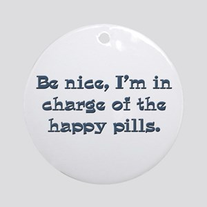 Pharmacist nurse gifts Ornament (Round)