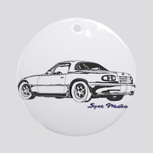 Spec Miata Ornament (Round)