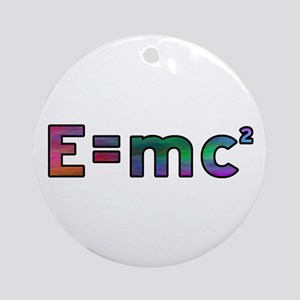 Theory of Relativity Ornament (Round)
