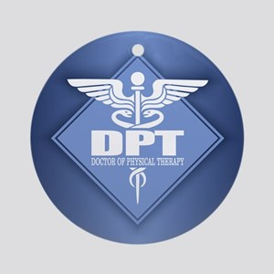 Doctor of Physical Therapy Round Ornament