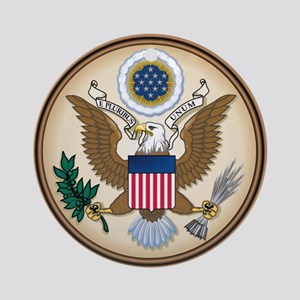Presidents Seal Ornament (Round)