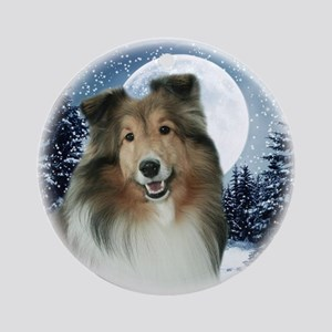 Winter Sheltie #2 Ornament