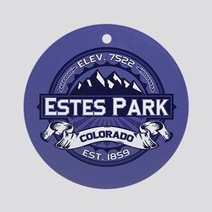 Estes Park Midnight Ornament (Round)