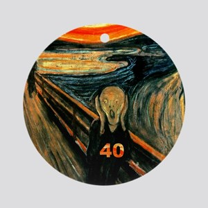 Scream 40th Ornament (Round)
