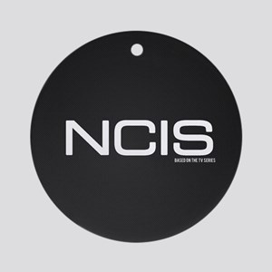 N.C.I.S. TV Show Round Ornament