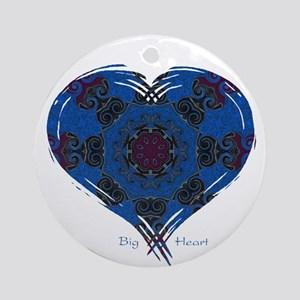 Big Heart - Balance Ornament (Round)