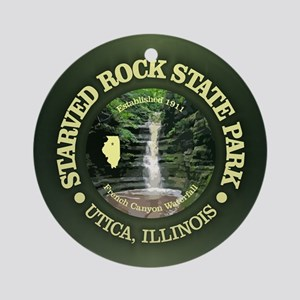 Starved Rock SP Round Ornament