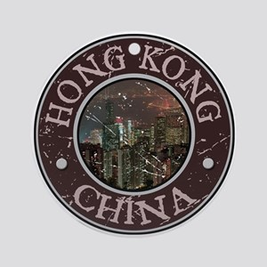 Hong Kong Ornament (Round)
