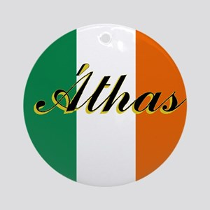 "Irish Flag ""Love"" Ornament"