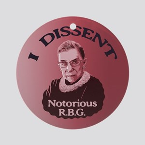 Notorious RBG -p Ornament (Round)