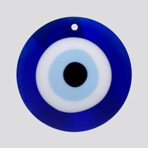 Nazar Amulet Evil Eye Protection Ornament (Round)