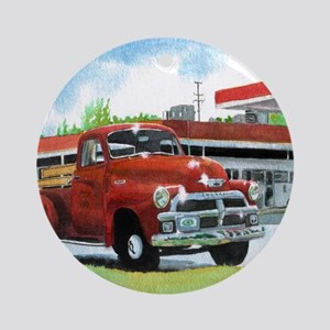 1954 Chevrolet Truck Round Ornament