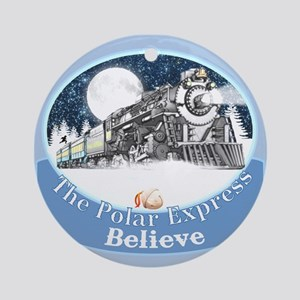 The Polar Express Ornament (Round)