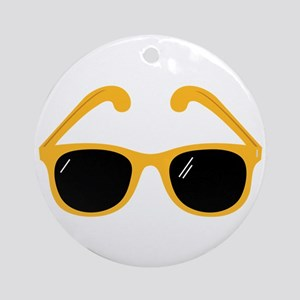 Sunglasses Ornament (Round)