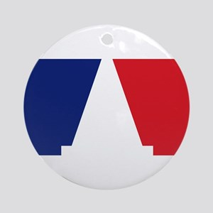 Major League Autocross Ornament (Round)