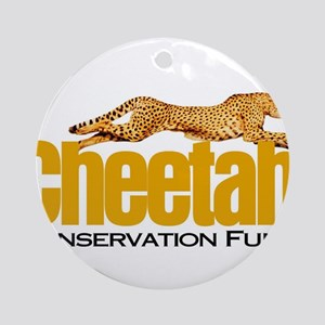 Cheetah Conservation Fund Round Ornament