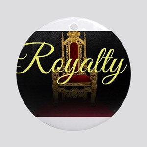 Royalty Round Ornament