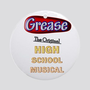 Grease VS. High School Musical Ornament (Round)