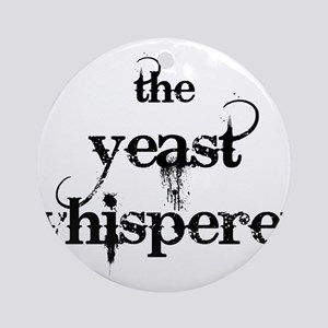 Yeast Whisperer Ornament (Round)