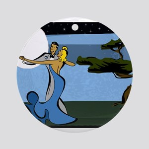 Moon Dance Ornament (Round)