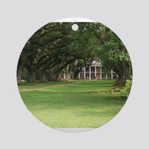 Plantation House Ornament (Round)