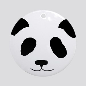 Happy Panda Ornament (Round)