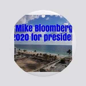 mike bloomberg 2020 united states o Round Ornament