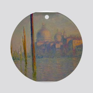 The Grand Canal, Venice Ornament (Round)