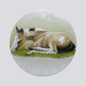Life is Good Ornament (Round)