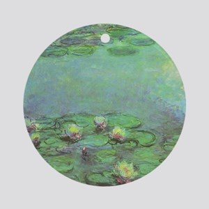 Waterlilies by Claude Monet Ornament (Round)